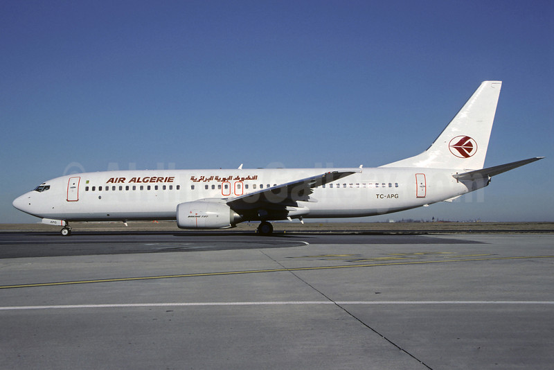 Air Algerie-Pegasus Airlines Boeing 737-82R TC-APG (msn 29329) CDG (Christian Volpati). Image: 910336.