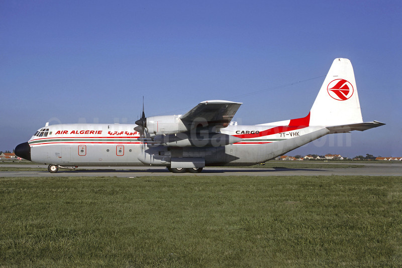 Air Algerie Lockheed 382G (L-100-30) Hercules 7T-VHK (msn 4883) ORY (Jacques Guillem). Image: 907198.