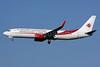 Air Algerie Boeing 737-8D6 WL 7T-VKJ (msn 40864) LHR (SPA). Image: 928456.
