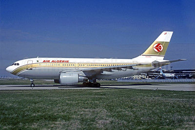 Air Algerie Airbus A310-203 7T-VJF (msn 306) (Libyan Arab colors) ORY (Jacques Guillem). Image: 940689.