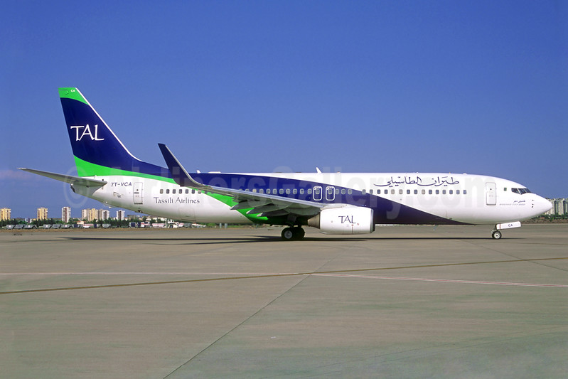 Tassili Airlines-TAL Boeing 737-8ZQ WL 7T-VCA (msn 40884) AYT (Jacques Guillem Collection). Image: 939328.