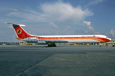 TAAG-Angola Airlines Ilyushin Il-62M D2-TIF (msn 4648525) LGW (Christian Volpati Collection). Image: 953224.