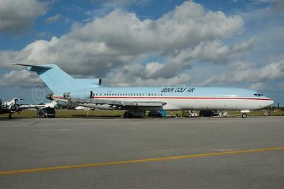 Benin Golf Air Boeing 727-223 (F) XU-722 XU-RKG) (msn 19475) OPF (Bruce Drum). Image: 100543.