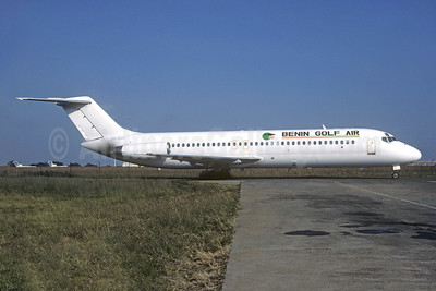 Benin Golf Air McDonnell Douglas DC-9-32 ZS-TGR (msn 47672) JNB (Jacques Guillem Collection). Image: 945672.