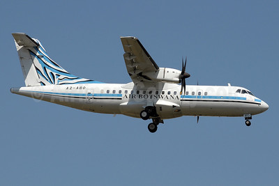 Air Botswana ATR 42-500 A2-ABO (msn 511) JNB (Paul Denton). Image: 910345.