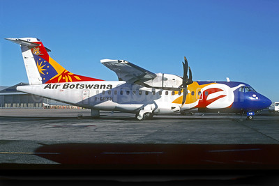 Air Botswana ATR 42-500 F-GPYH (msn 522) (Air Littoral colors) JNB (Christian Volpati). Image: 923378.