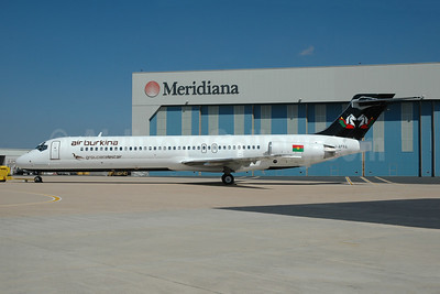 Air Burkina McDonnell Douglas DC-9-87 (MD-87) I-AFRA (XT-ABC) (msn 49834) OLB (Marco Finelli). Image: 945120.