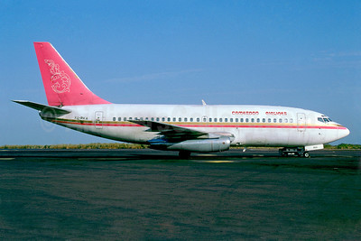 Cameroon Airlines Boeing 737-2H4 XU-RKA (msn 22061) (Royal Khmer colors) BKO (Jacques Guillem). Image: 922243.