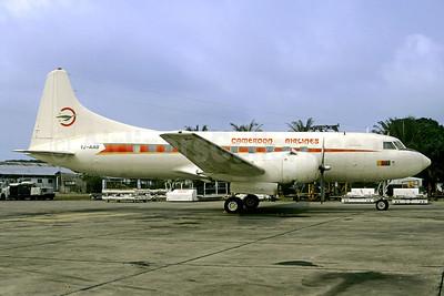Cameroon Airlines Convair 440-94 TJ-AAD (msn 439) DLA (Jacques Guillem). Image: 922249.
