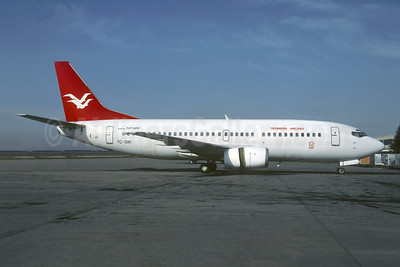Leased from Birgenair on April 19, 1996
