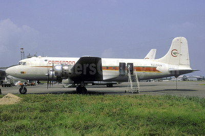 Cameroon Airlines Douglas C-54B-15-DO (DC-4) TJ-CCA (msn 18381) DLA (Jacques Guillem). Image: 922250.