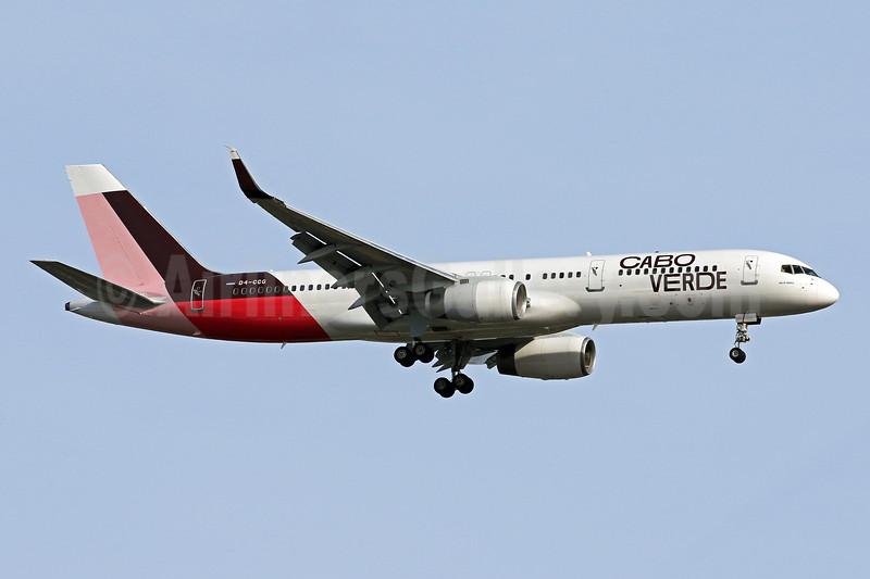 Inaugural flight to Washington Dulles from Sal