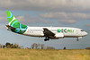 ECAir-Equatorial Congo Airlines (PrivatAir) Boeing 737-306 HB-JJB (msn 27421) SNN (Malcolm Nason). Image: 912402.