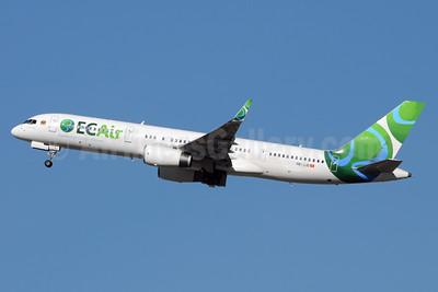 ECAir-Equatorial Congo Airlines (PrivatAir) Boeing 757-236 WL HB-JJD (msn 25807) BRU (Karl Cornil). Image: 925211.