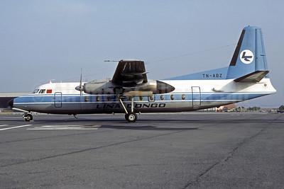 Lina Congo Fokker F.27 Mk. 200 TN-ABZ (msn 10446) MRS (Christian Volpati Collection). Image: 922431.