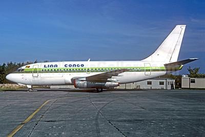 Lina Congo Boeing 737-2Q5C F-GFVR (TN-AEE) (msn 21538) (Air Afrique colors) (Jacques Guillem). Image: 921639.