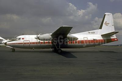 Lina Congo Fokker F.27 Mk. 200 TN-ACR (msn 10137) LBG (Christian Volpati). Image: 921641.