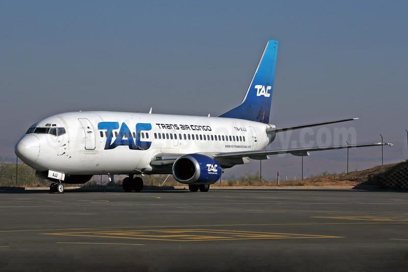 Trans Air Congo-TAC Boeing 737-3Q8 TN-AJJ (msn 24986) FLA (Rob Finlayson). Image: 928109.