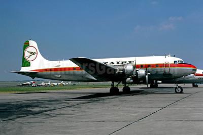 Air Zaïre Douglas C-54B-1-DC (DC-4) Swingtail 9Q-CBG (msn 10452) LBG (Christian Volpati). Image: 949020.