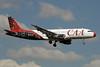 CAA (Compagnie Africaine d'Aviacion) Airbus A320-212 9Q-CAT (msn 189) JNB (Paul Denton). Image: 921010.