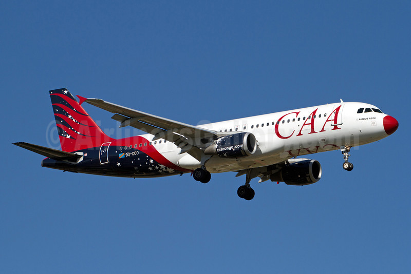 CAA (Compagnie Africaine d'Aviacion) Airbus A320-211 9Q-CCO (msn 342) JNB (Rainer Bexten). Image: 911329.