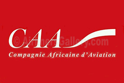 1. CAA - Compagnie Africaine d'Aviation logo