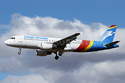 Congo Airways Airbus A320-216 9S-AKD (msn 3412) JNB (Jonathan Druion). Image: 946068.