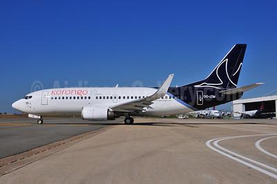 Korongo Airlines (Brussels Airlines) Boeing 737-3M8 WL OO-LTM (msn 25070) BRU (Ton Jochems). Image: 906535.