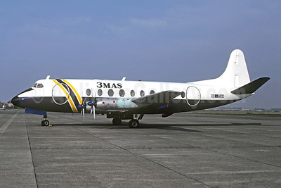 3MAS (MMM Aero Services) Vickers Viscount  708 9Q-CAH (msn 36) (BAF colors) OST (Christian Volpati Collection). Image: 927712.