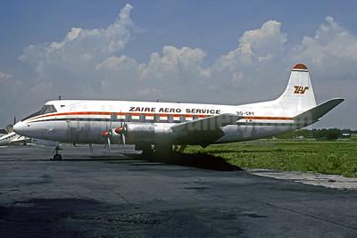 Zaire Aero Service-ZAS Vickers Viscount 757 9Q-CPY (msn 386) FIH (Christian Volpati Collection). Image: 948720.