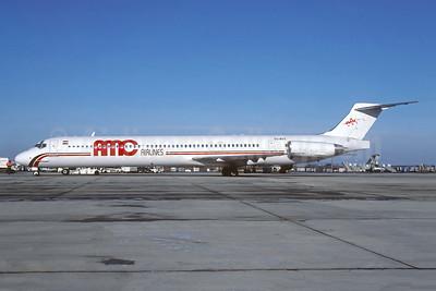 AMC Airlines McDonnell Douglas DC-9-83 SU-BOY (msn 53191) CDG (Pepscl). Image: 943437.
