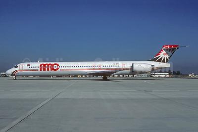 AMC Airlines McDonnell Douglas MD-90-30 SU-BMQ (msn 53576) CDG (Christian Volpati). Image: 943439.