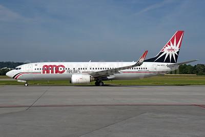 AMC Airlines Boeing 737-86N WL SU-BPZ (msn 35213) ZRH (Rolf Wallner). Image: 942251.