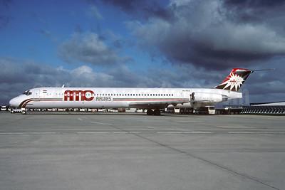 AMC Airlines McDonnell Douglas DC-9-83 SU-BOZ (msn 53192) CDG (Christian Volpati). Image: 943438.
