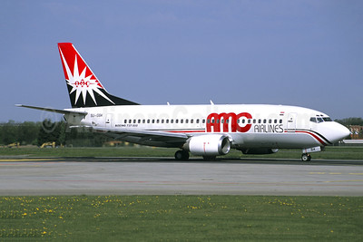AMC Airlines Boeing 737-566 SU-GBK (msn 26052) (Jacques Guillem Collection). Image: 943440.