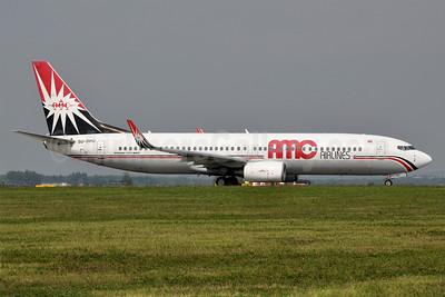 AMC Airlines Boeing 737-86N WL SU-BPG (msn 32669) MXP (Richard Vandervord). Image: 911632.