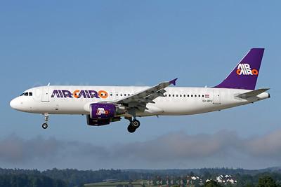 Air Cairo Airbus A320-214 SU-BPU (msn 2937) ZRH (Andi Hiltl). Image: 947339.  Delivered on November 10, 2006.