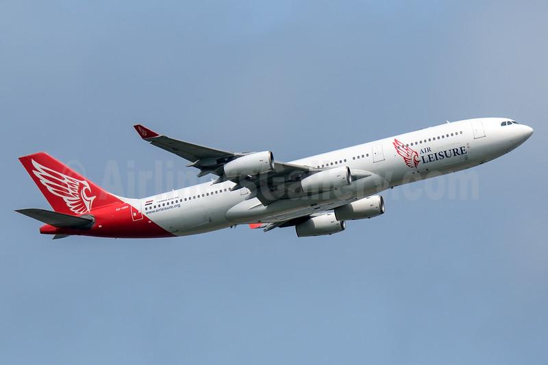 Air Leisure Airbus A340-212 SU-GBN (msn 159) NRT (Akira Uekawa). Image: 932836.