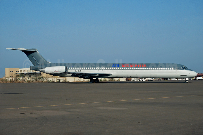 Air Memphis McDonnell Douglas DC-9-83 (MD-83) SU-BME (msn 49628) CAI (Christian Volpati Collection). Image: 934764.