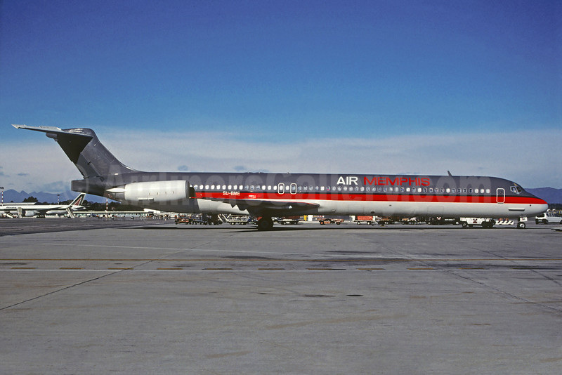 Air Memphis McDonnell Douglas DC-9-83 (MD-83) SU-BME (msn 49628) MXP (Jacques Guillem Collection). Image: 934763.