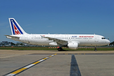 Air Memphis Airbus A320-211 SU-PBE (msn 024) LHR (Antony J. Best). Image: 934761.
