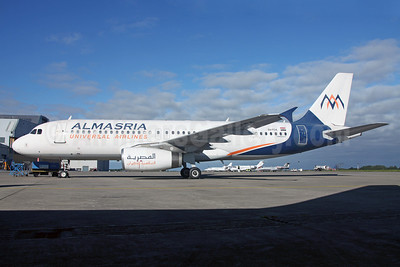 AlMasria Universal Airlines Airbus A320-232 SU-TCA (msn 932) DUB (Greenwing). Image: 913671.
