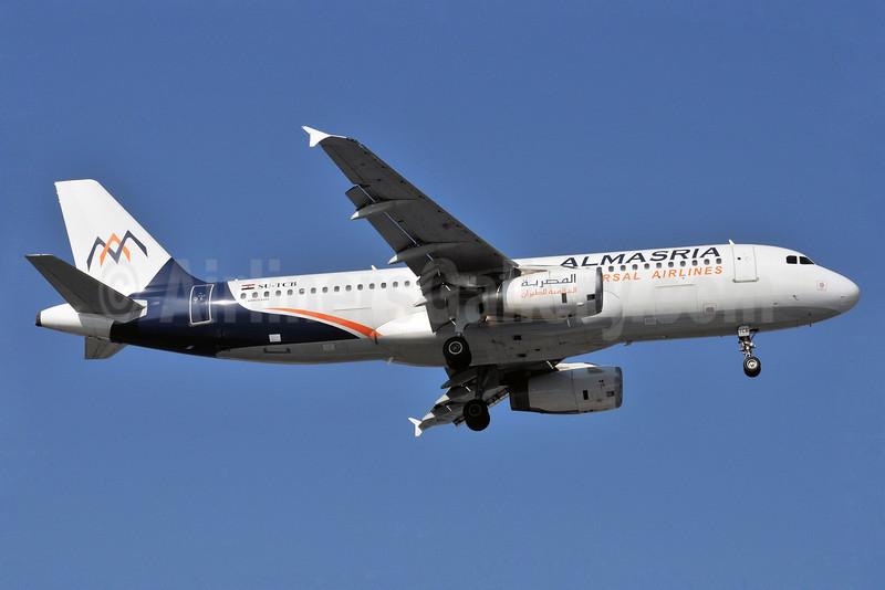 AlMasria Universal Airlines Airbus A320-232 SU-TCB (msn 943) BLQ (Marco Finelli). Image: 912901.