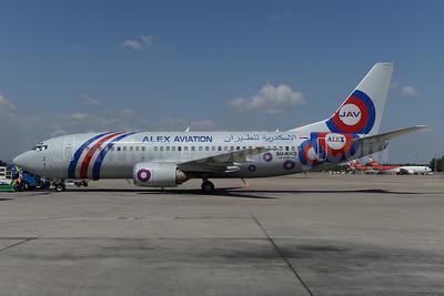 Alex Aviation (Alexandria Airlines) Boeing 737-3S3 SU-KHO (msn 29244) (Jordan Aviation colors) AYT (Ton Jochems). Image: 924416.