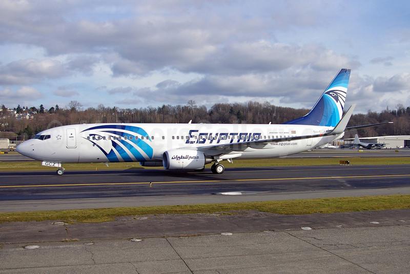 EgyptAir Boeing 737-866 WL SU-GCZ (msn 35568) BFI (Joe G. Walker). Image: 901903.