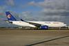 Egypt Air Airbus A330-243 SU-GCJ (msn 709) LHR. Image: 929592.