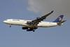 Egypt Air Airbus A340-212 SU-GBN (msn 159) DXB (Paul Denton). Image: 909509.