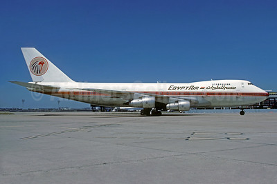 Egypt Air Boeing 747-2B4B N204AE (msn 21099) ORY (Christian Volpati Collection). Image: 936254.