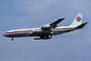 Egypt Air Boeing 707-366C SU-AXK (msn 20920) LHR (Richard Vandervord). Image: 901460.