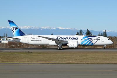 SU-GER - EgyptAir's first 787 Dreamliner